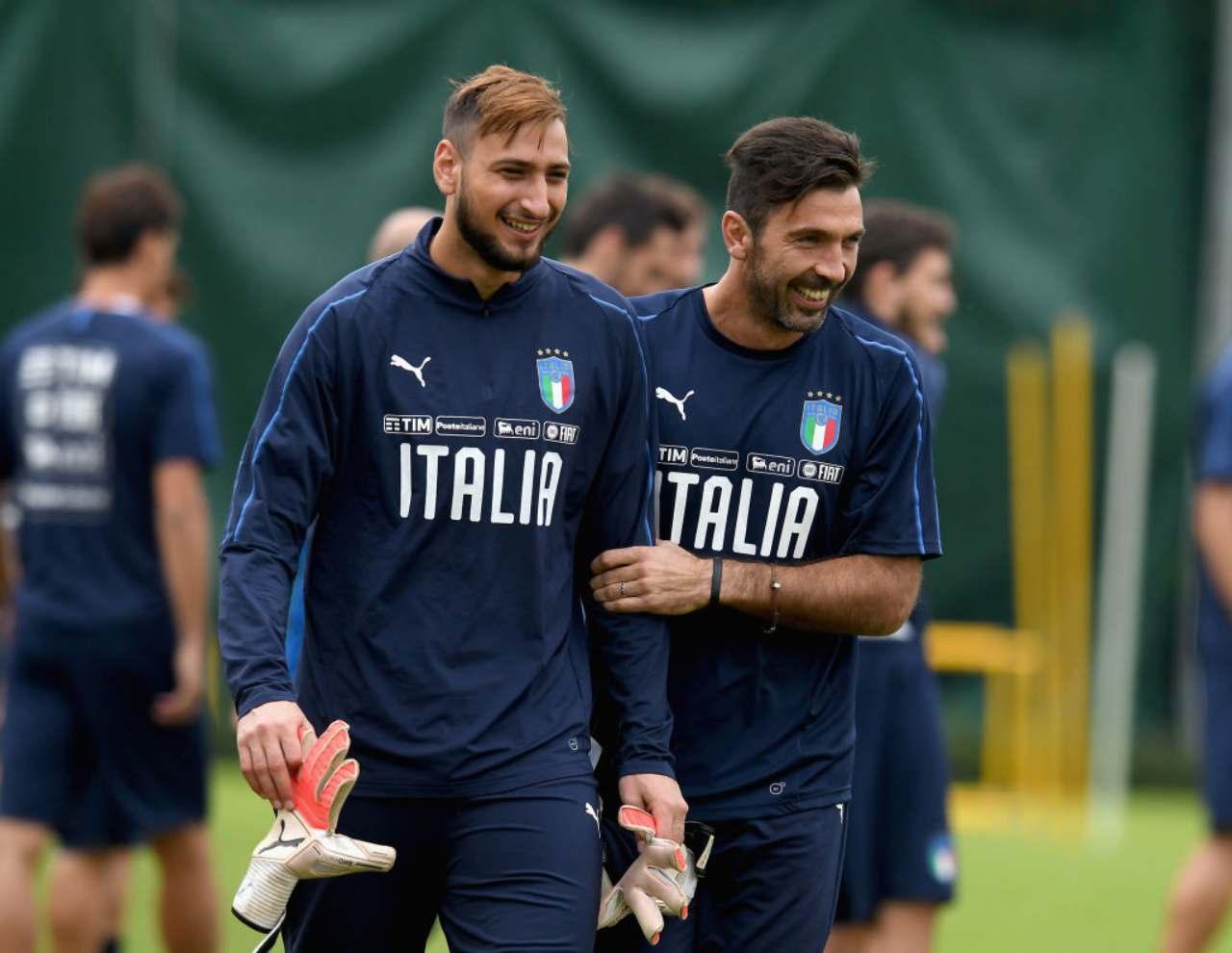 donnarumam e Buffon
