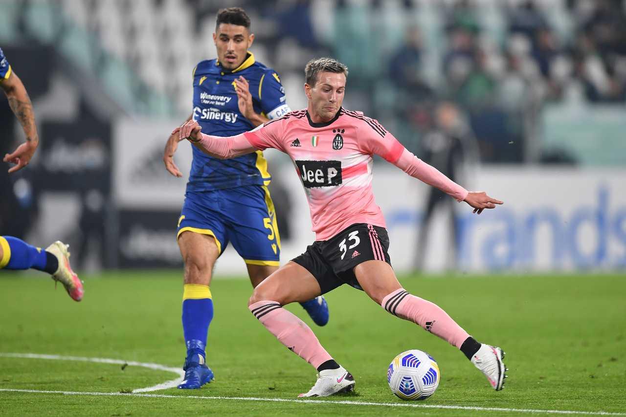 Federico Bernardeschi rigore Juventus-Verona