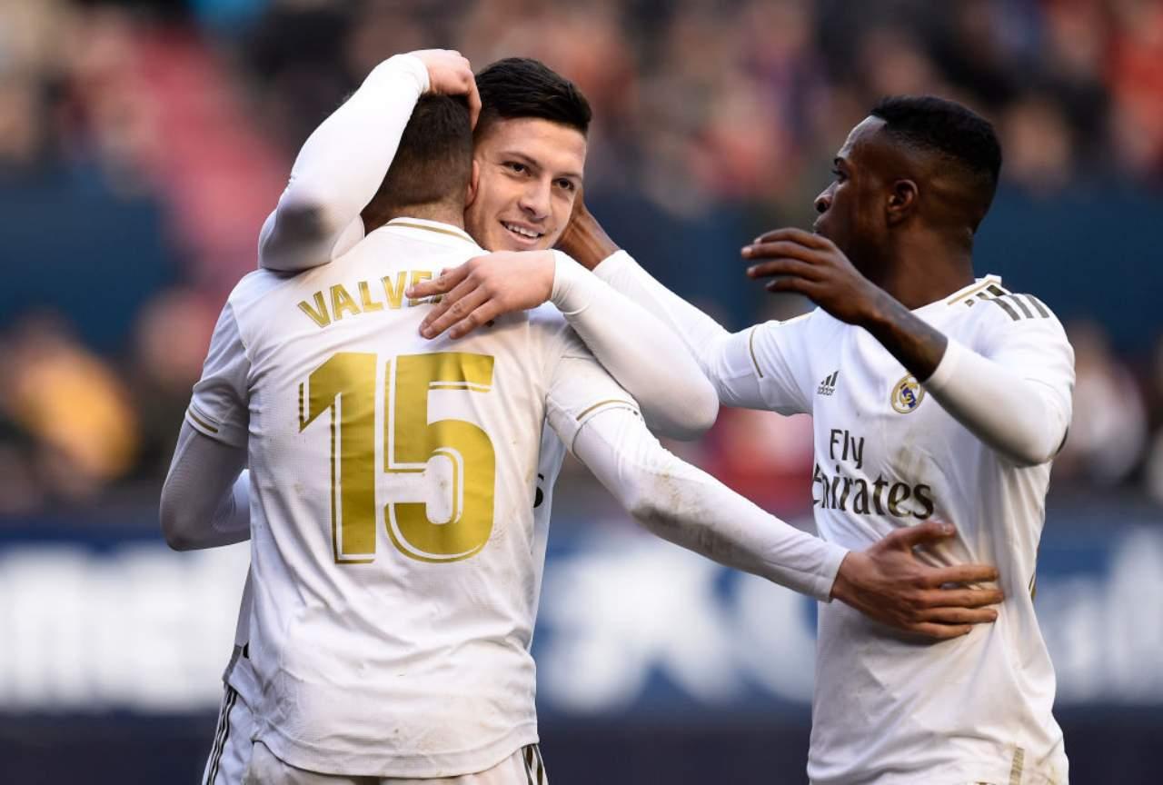 Real Madrid Luka Jovic