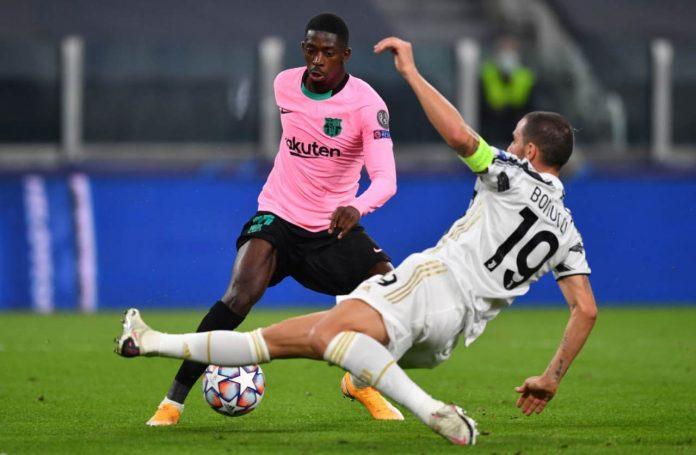 Juventus infortunio Bonucci