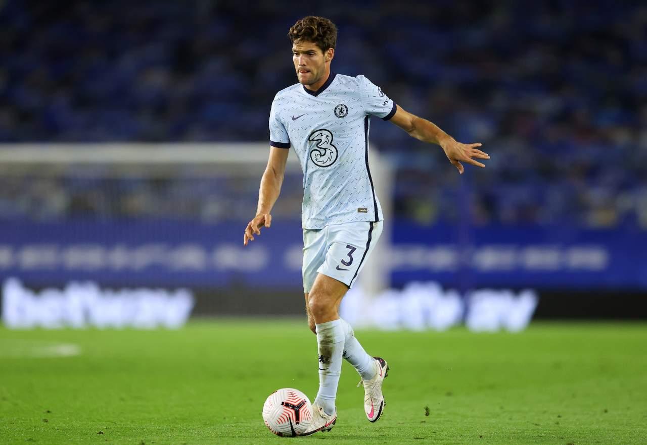 Calciomercato Juventus Marcos Alonso