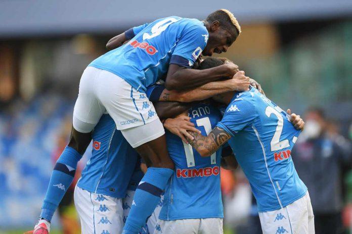 Gol del Napoli