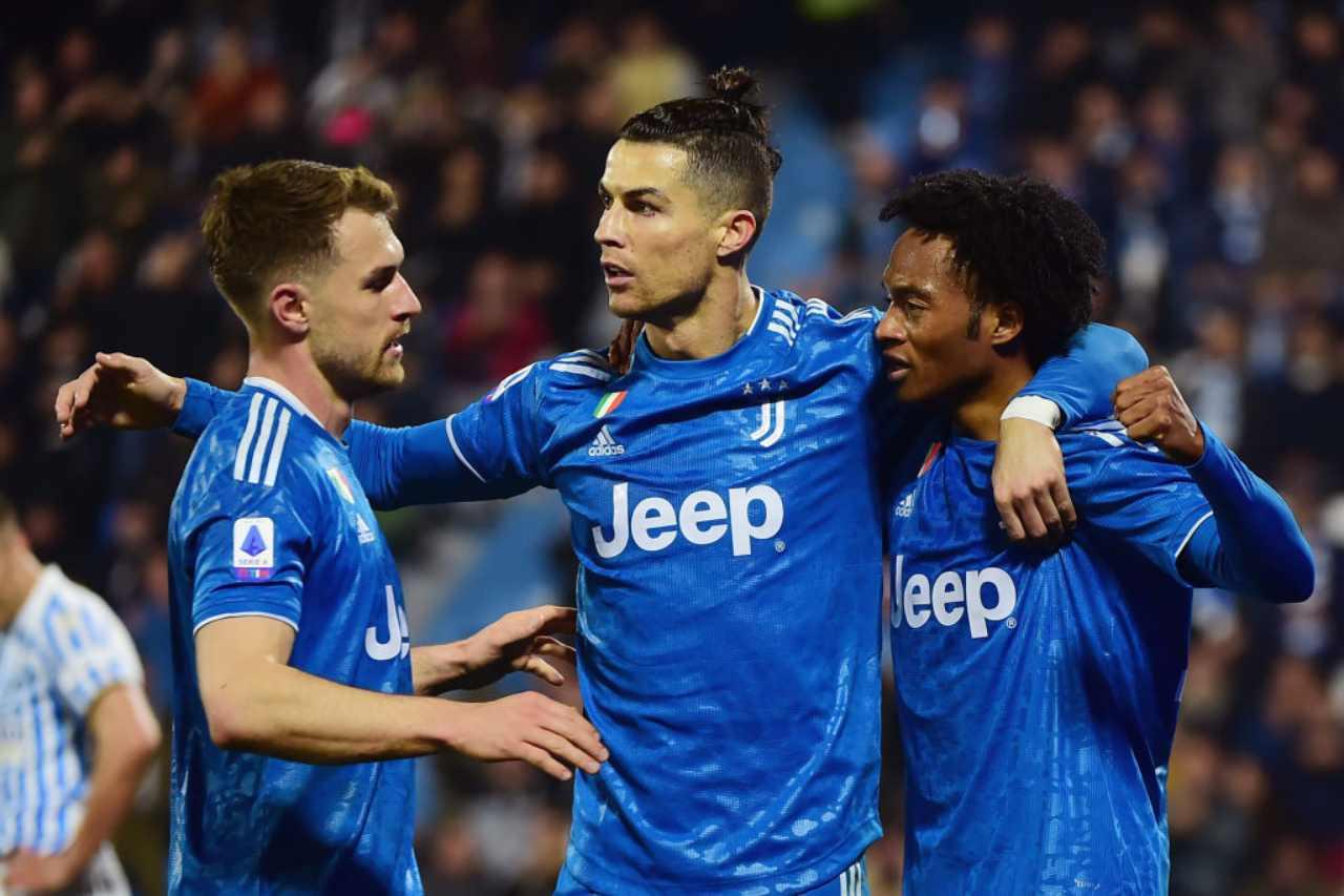 Juventus Cuadrado positivo al Coronavirus
