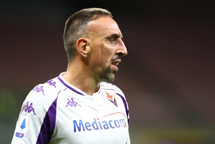Frank Ribery, le condizioni dopo l'infortunio