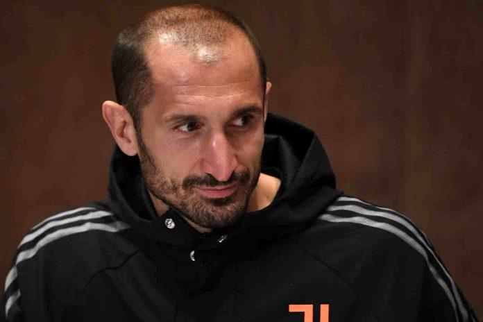 Juventus infortunio Chiellini