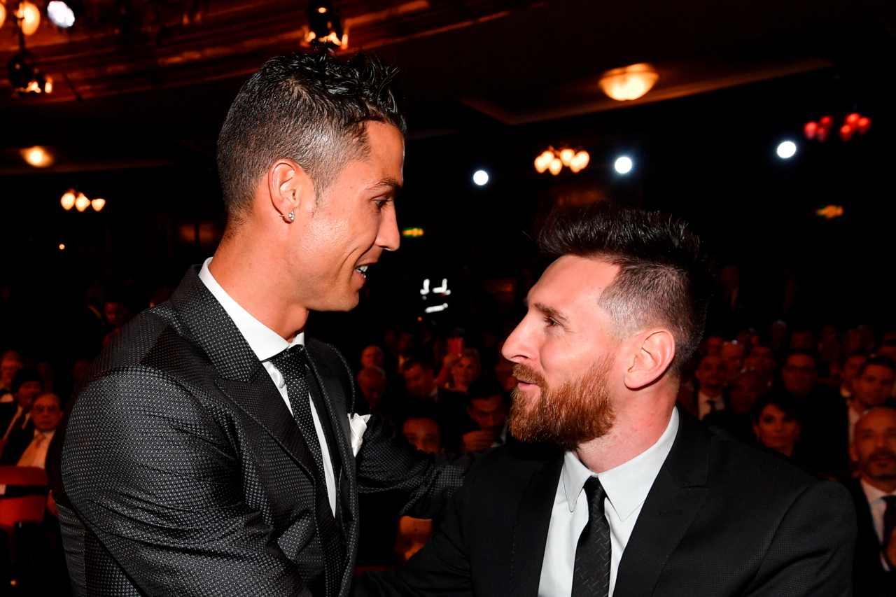 Juventus Barcellona, Cristiano Ronaldo e Leo Messi