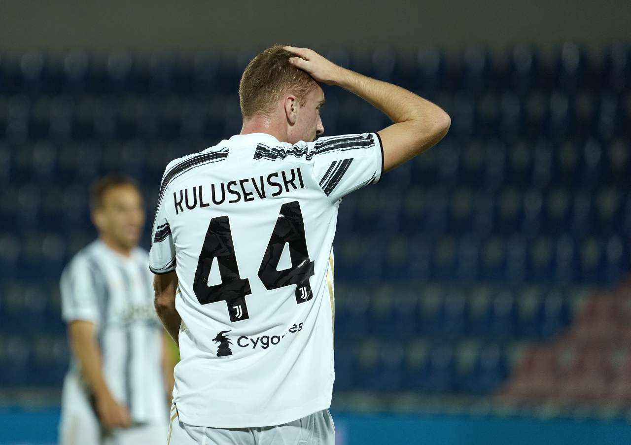 juventus incidente kulusevski