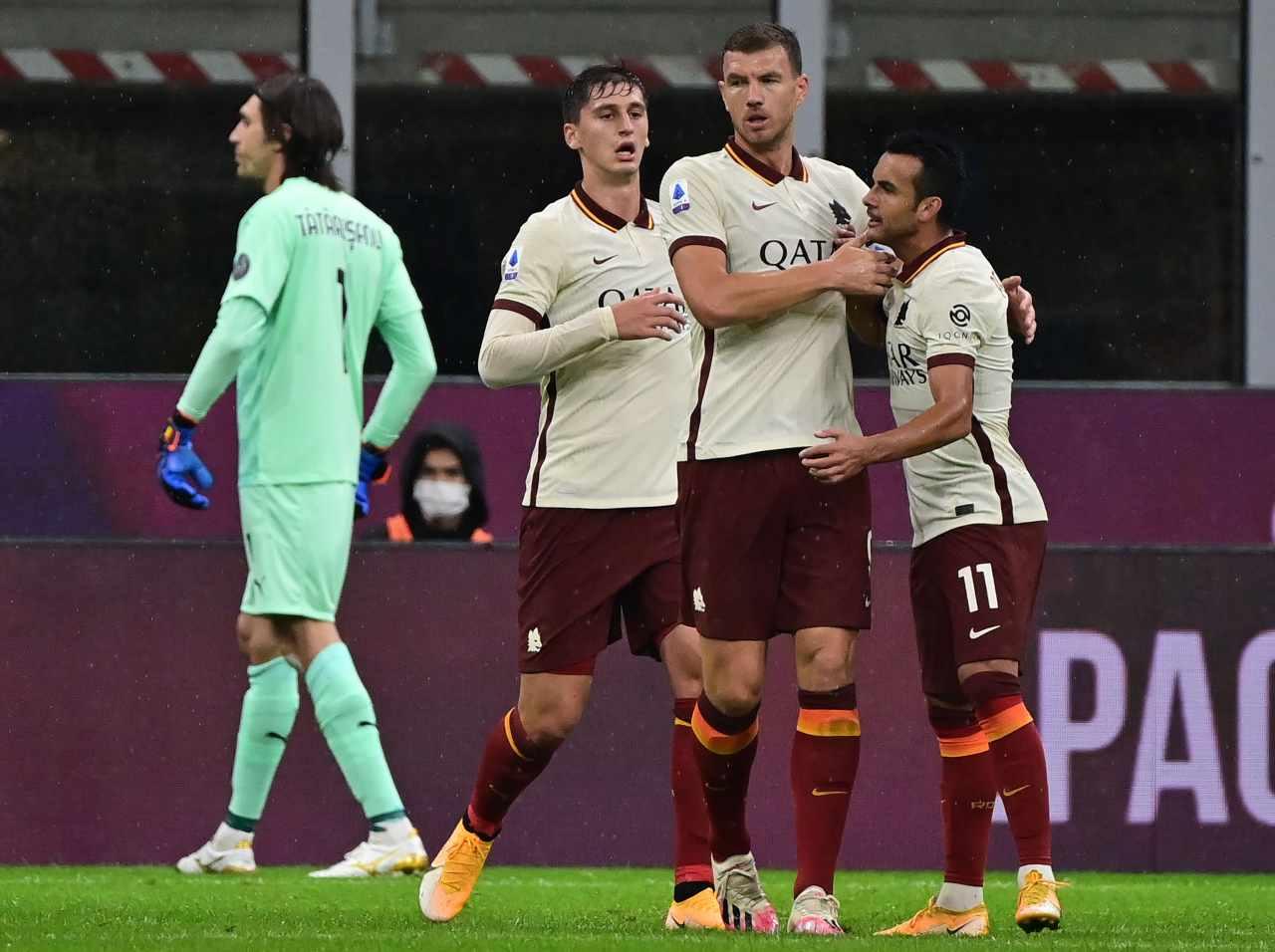 milan-roma risultato tabellino highlights