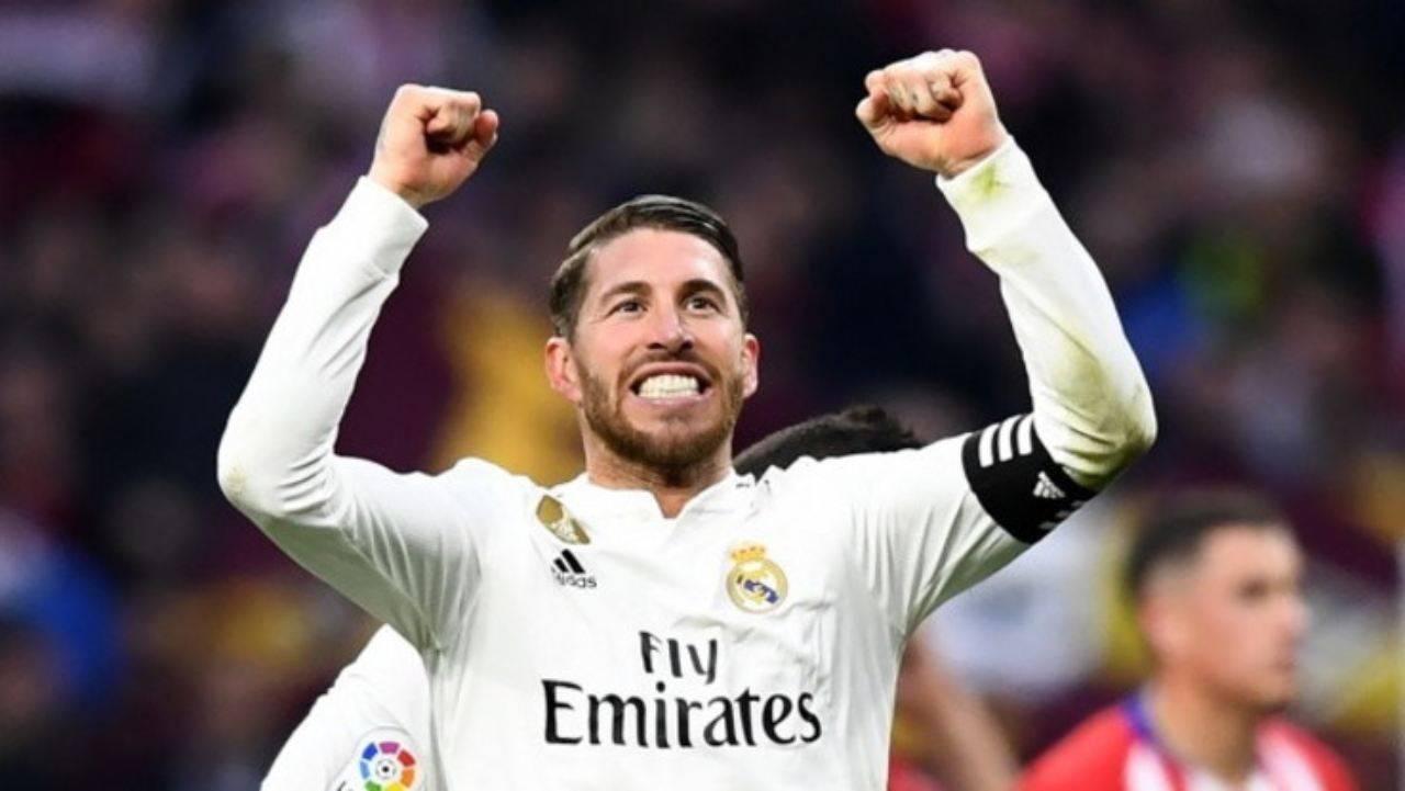 Calciomercato Juventus Sergio Ramos