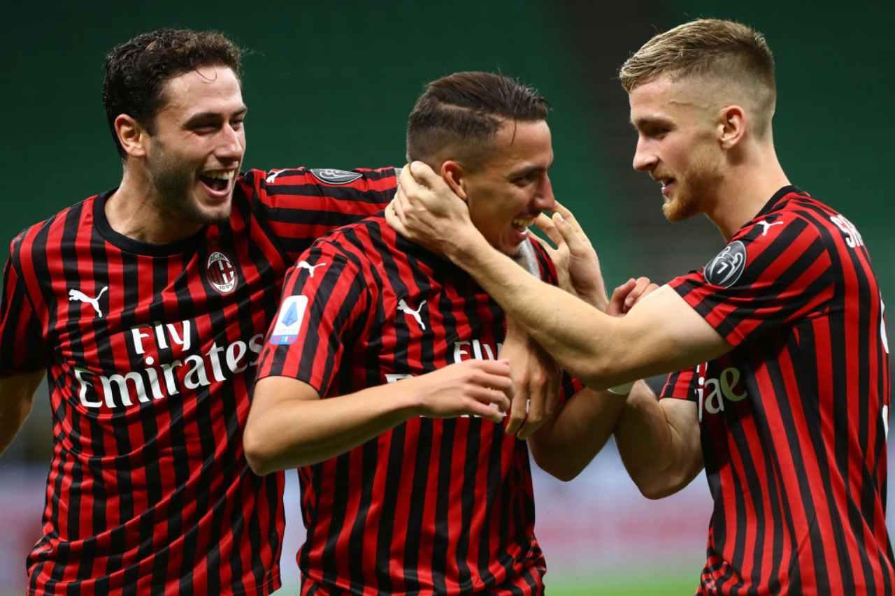 calciomercato Calabria Milan rinnovo