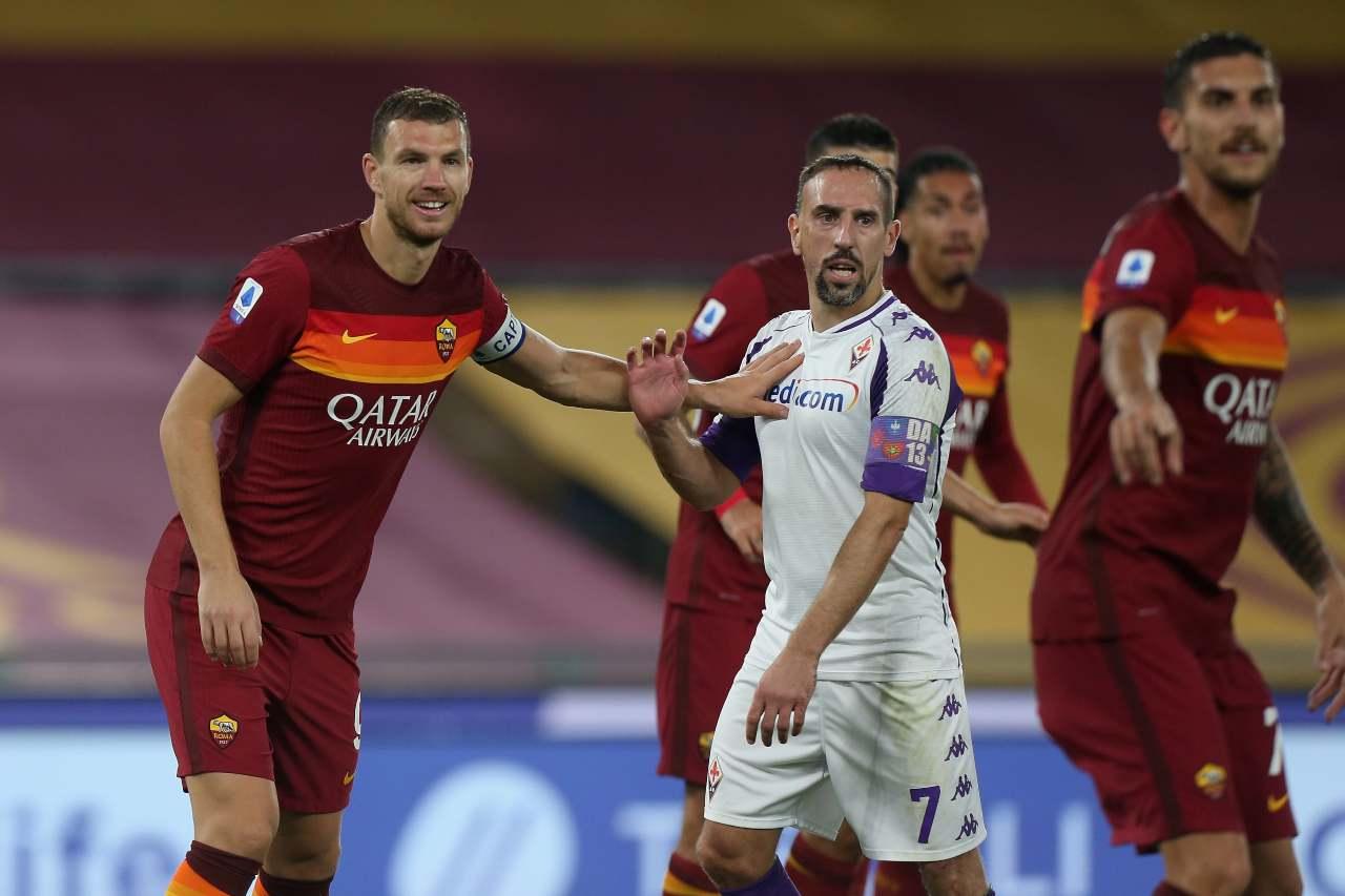 Fiorentina infortunio Ribery