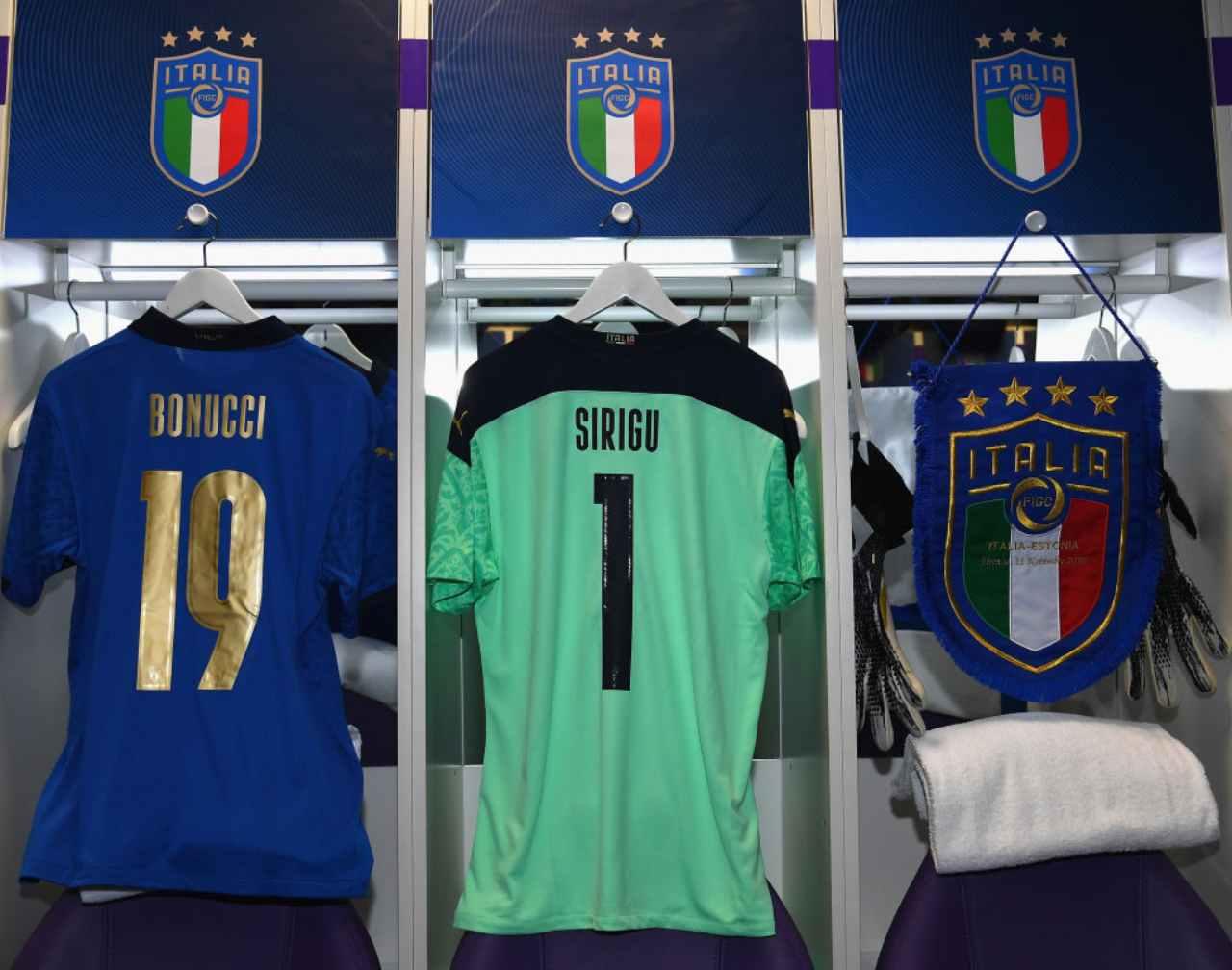 ultime italia formazioni ufficiali