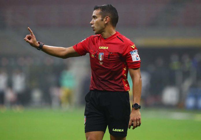 Piccinini arbitro Inter-Parma