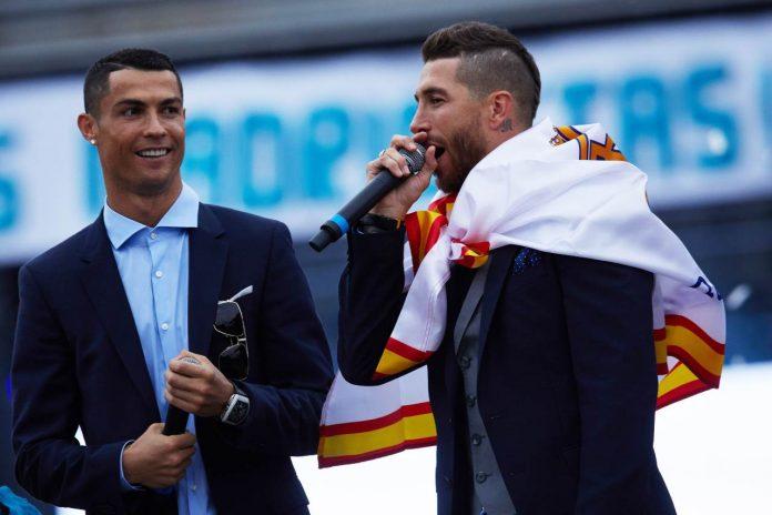 Calciomercato Juventus, Sergio Ramos e Cristiano Ronaldo