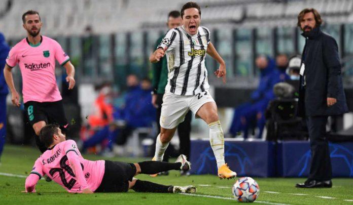 Juventus Chiesa infortunio