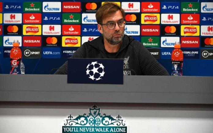 Atalanta Liverpool Klopp