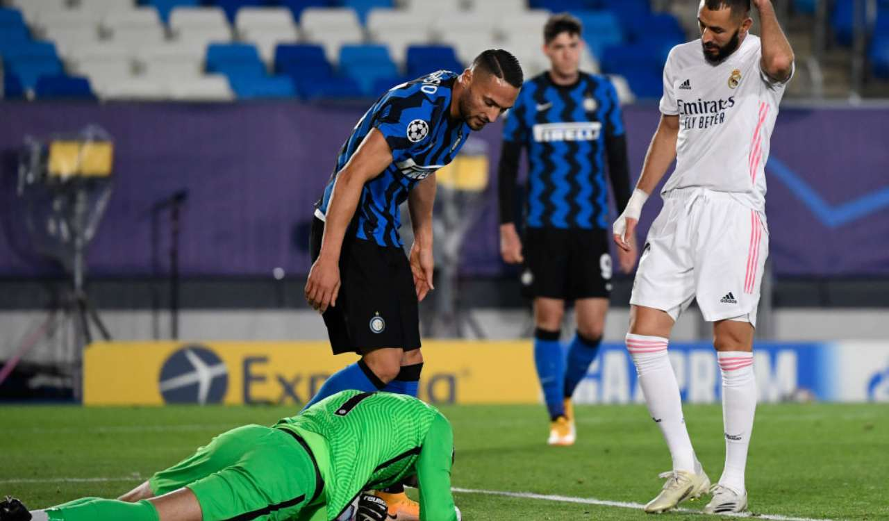 Handanovic real madrid Inter