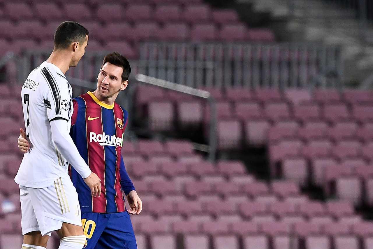 Cristiano Ronaldo e Lionel Messi, futuro a Manchester