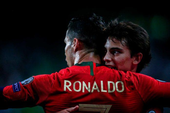 Belgio-Portogallo Ronaldo