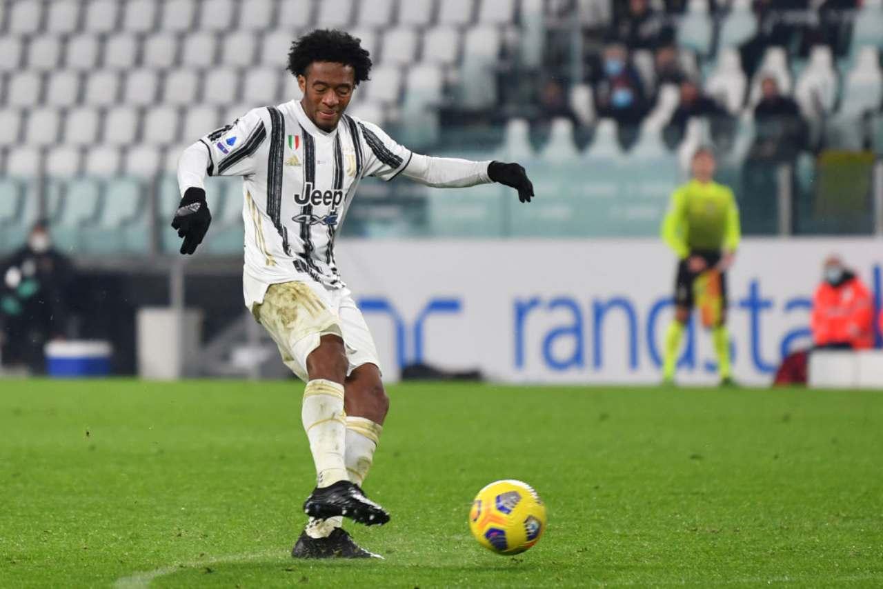 Juventus Cuadrado positivo al Covid