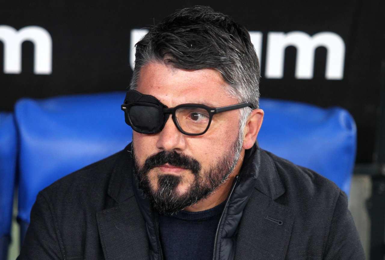 Esonero Gattuso Sarri Napoli