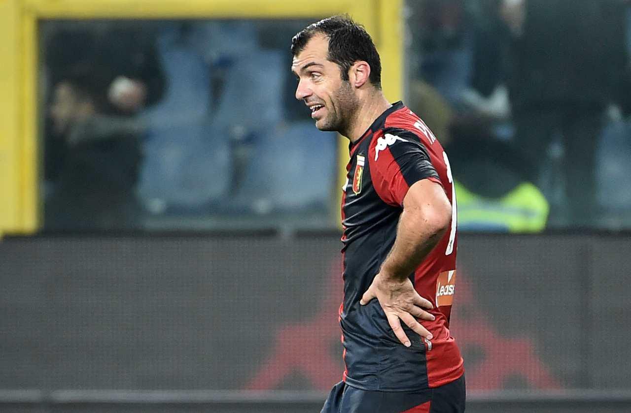 Genoa, Pandev annuncia il ritiro