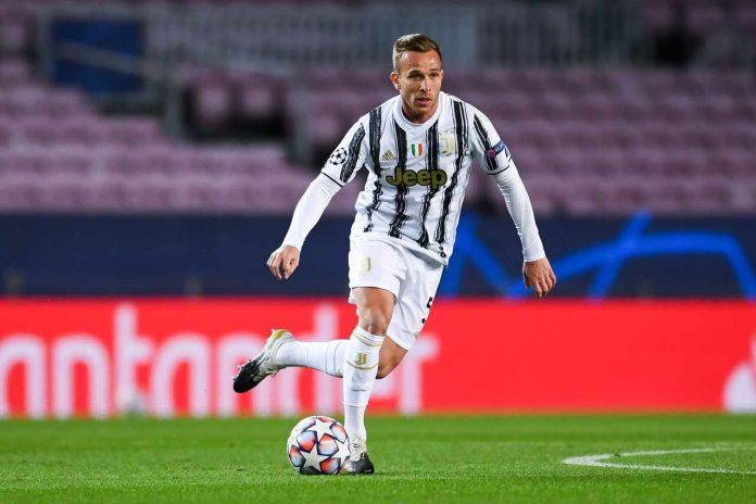 Juventus infortunio Arthur