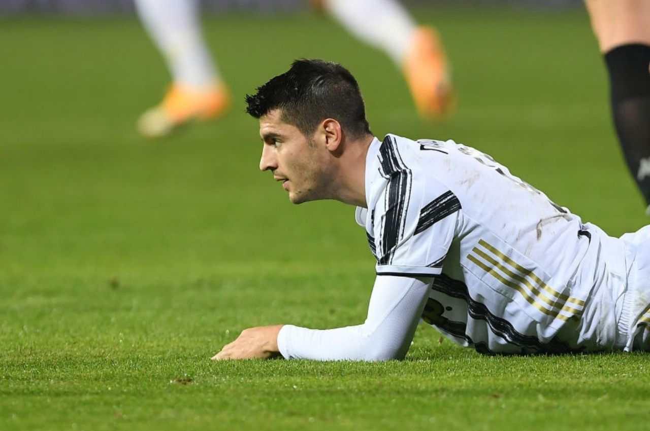 Juventus infortunio Morata