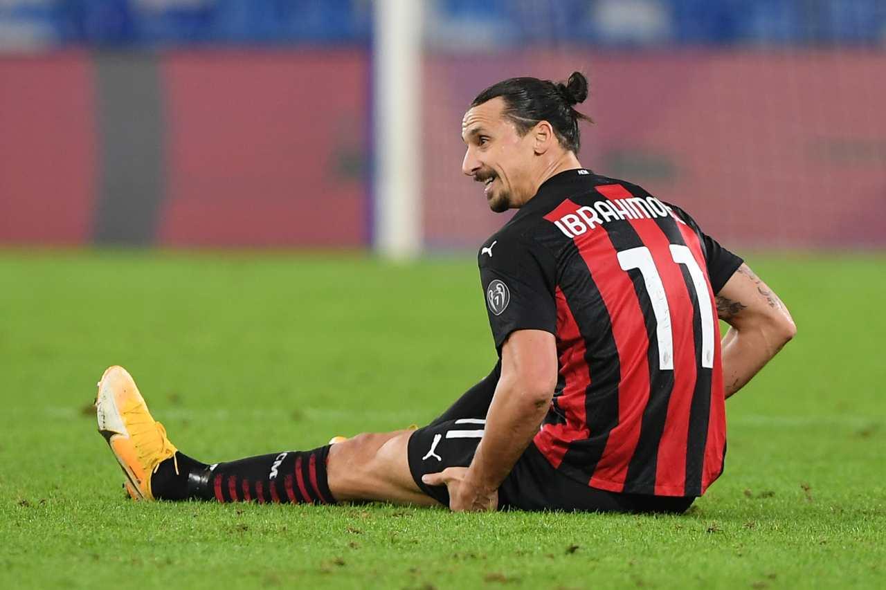 Milan-Juventus, Pioli su Ibrahimovic