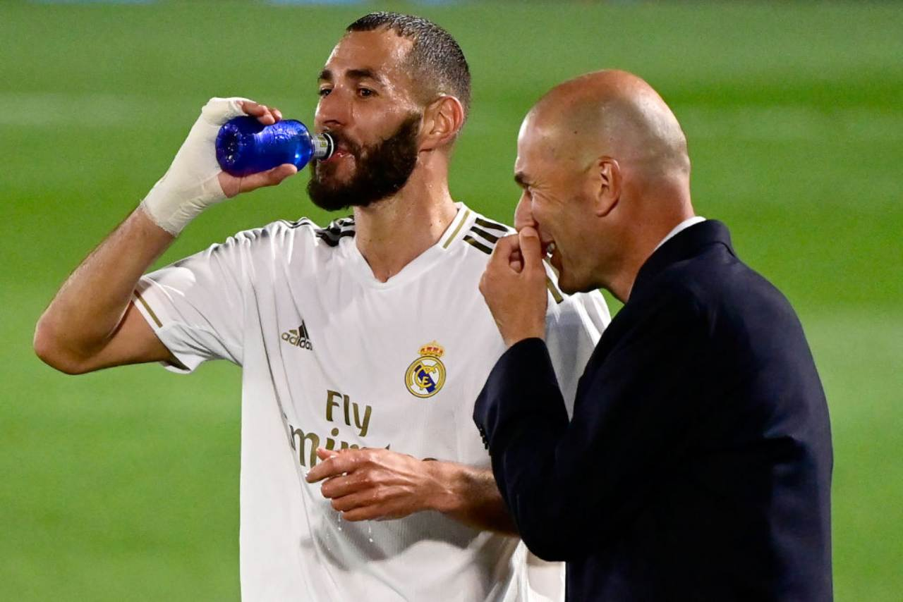 Benzema Zidane Real Madrid