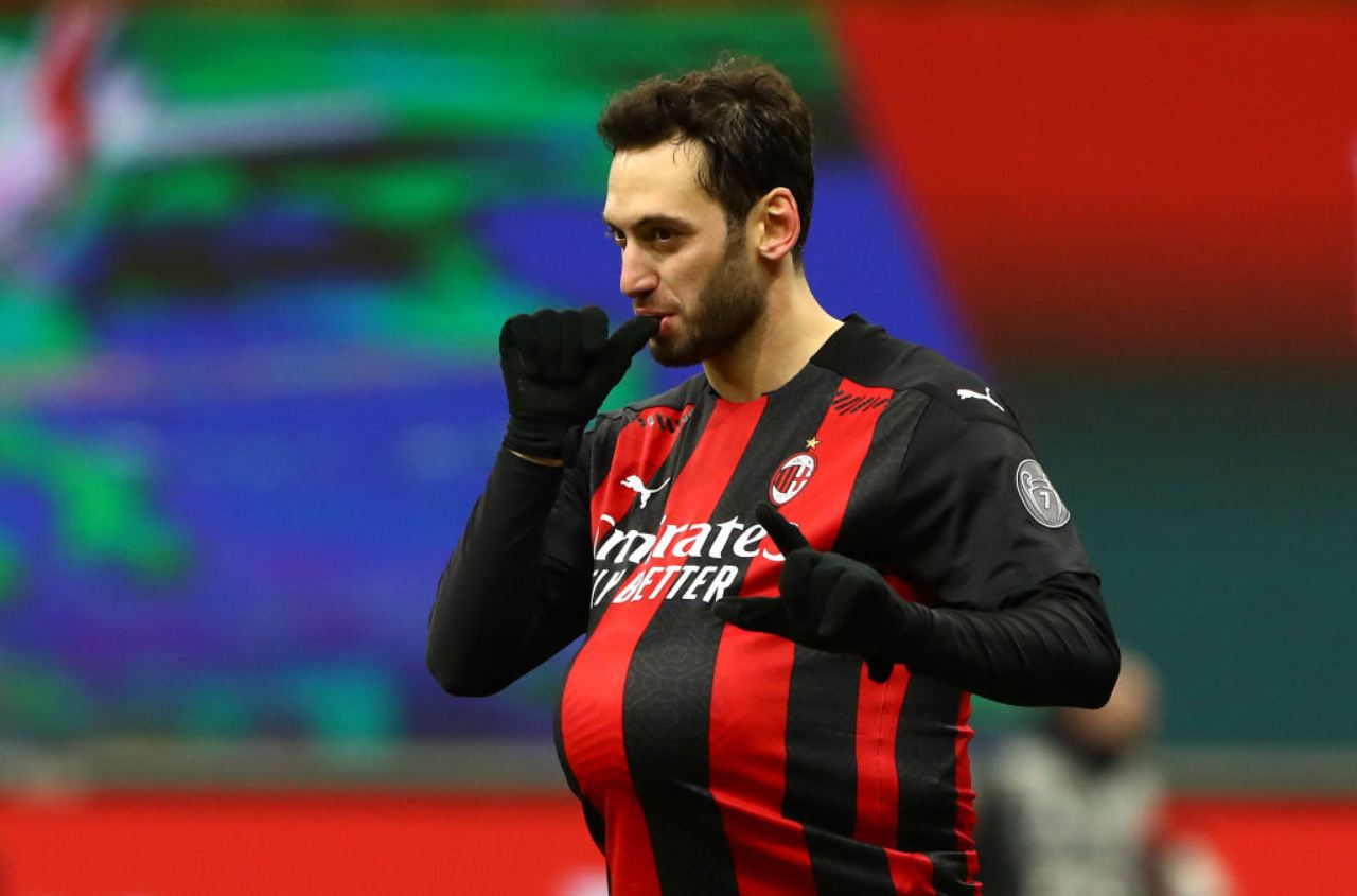 Calciomercato Milan Calhanoglu