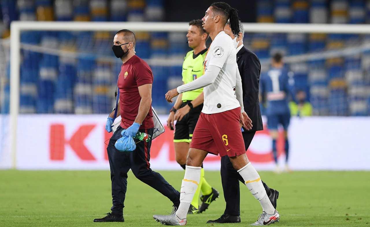 Roma infortunio Smalling