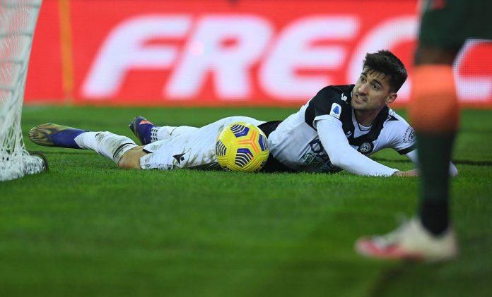 Udinese infortunio Pussetto