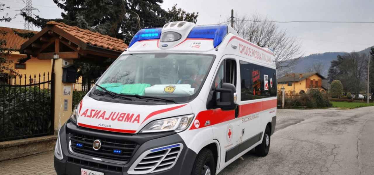ambulanza roma de sanctis