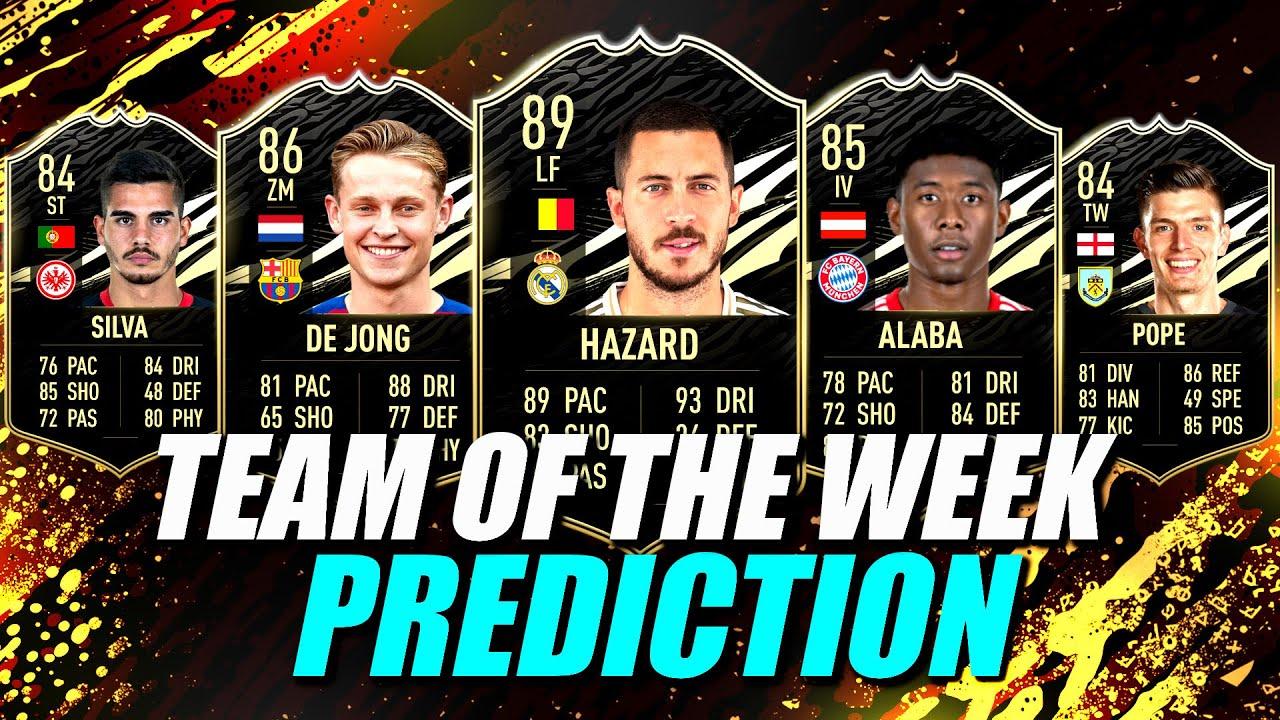 FIFA TOTW 18 prediction