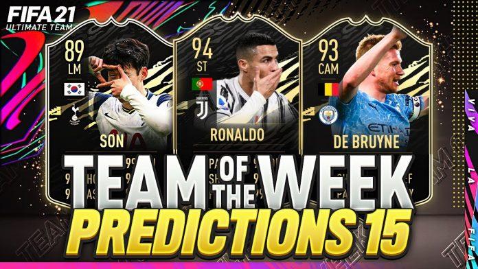 Fifa Fut 2021: TOTW 15, la prediction dei calciatori della squadra della settimana