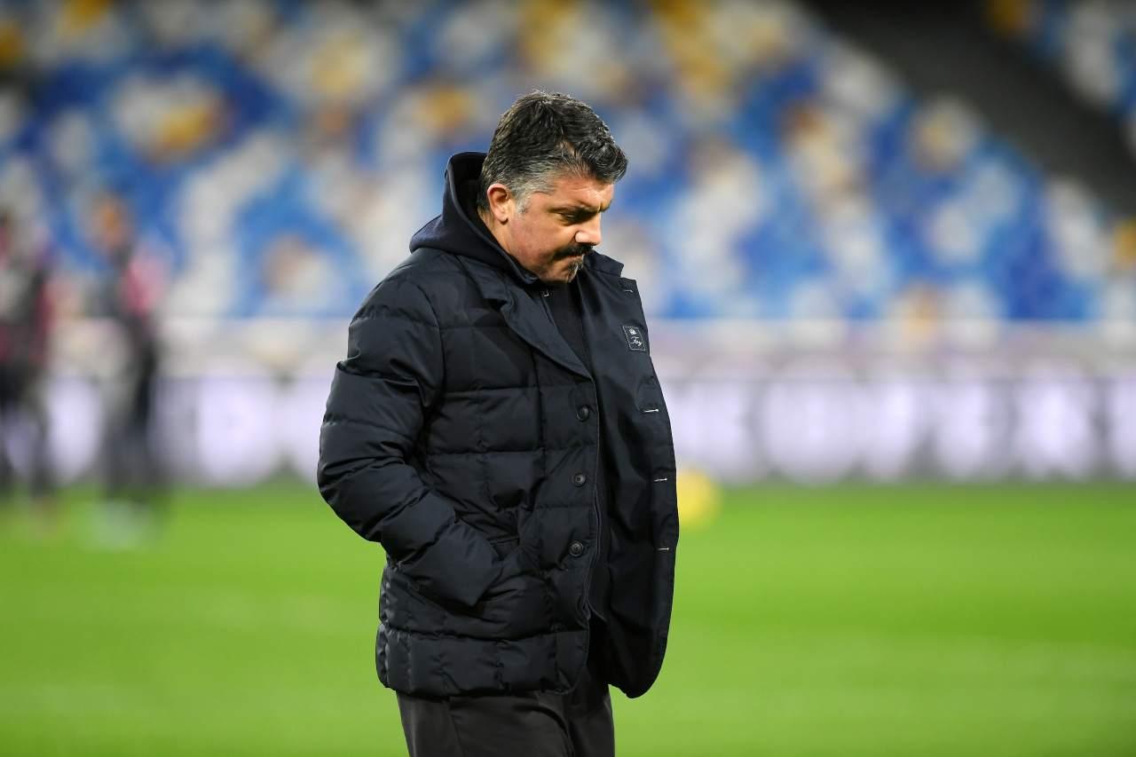 Gattuso esonero Napoli