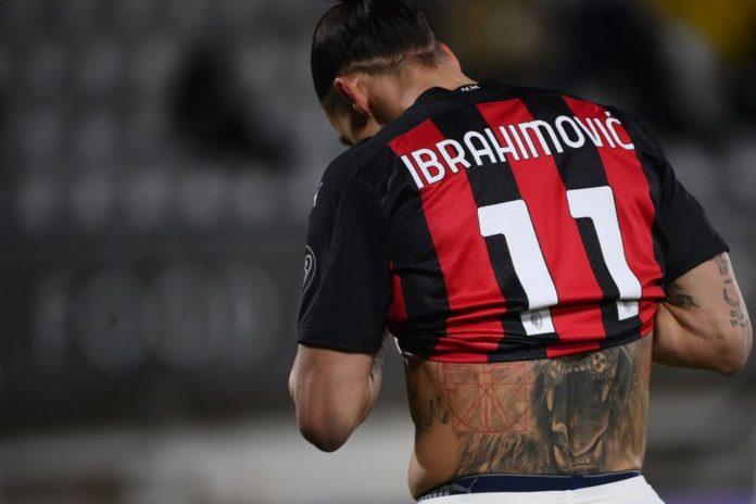 Milan infortunio ibrahimovic ritiro