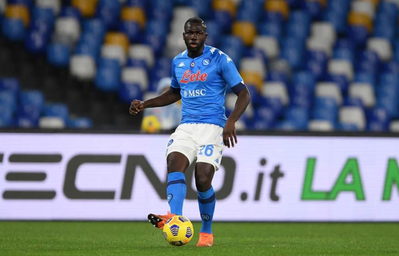 Napoli infortunio Koulibaly