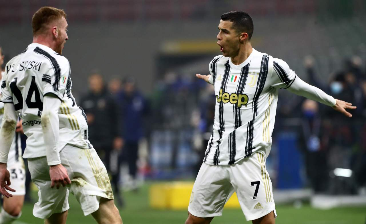 Kulusevski Ronaldo Juventus