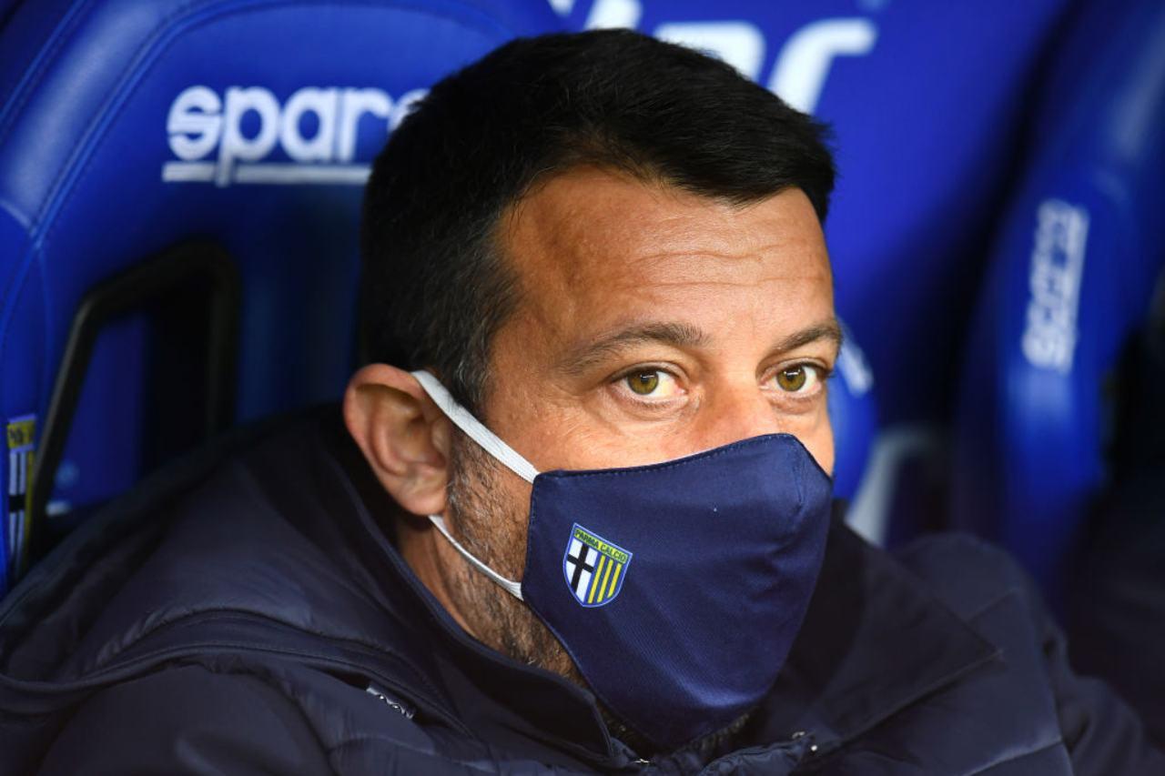 Parma D'Aversa infortunio Pellè