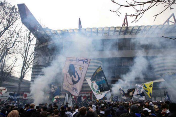 San Siro tifosi Inter