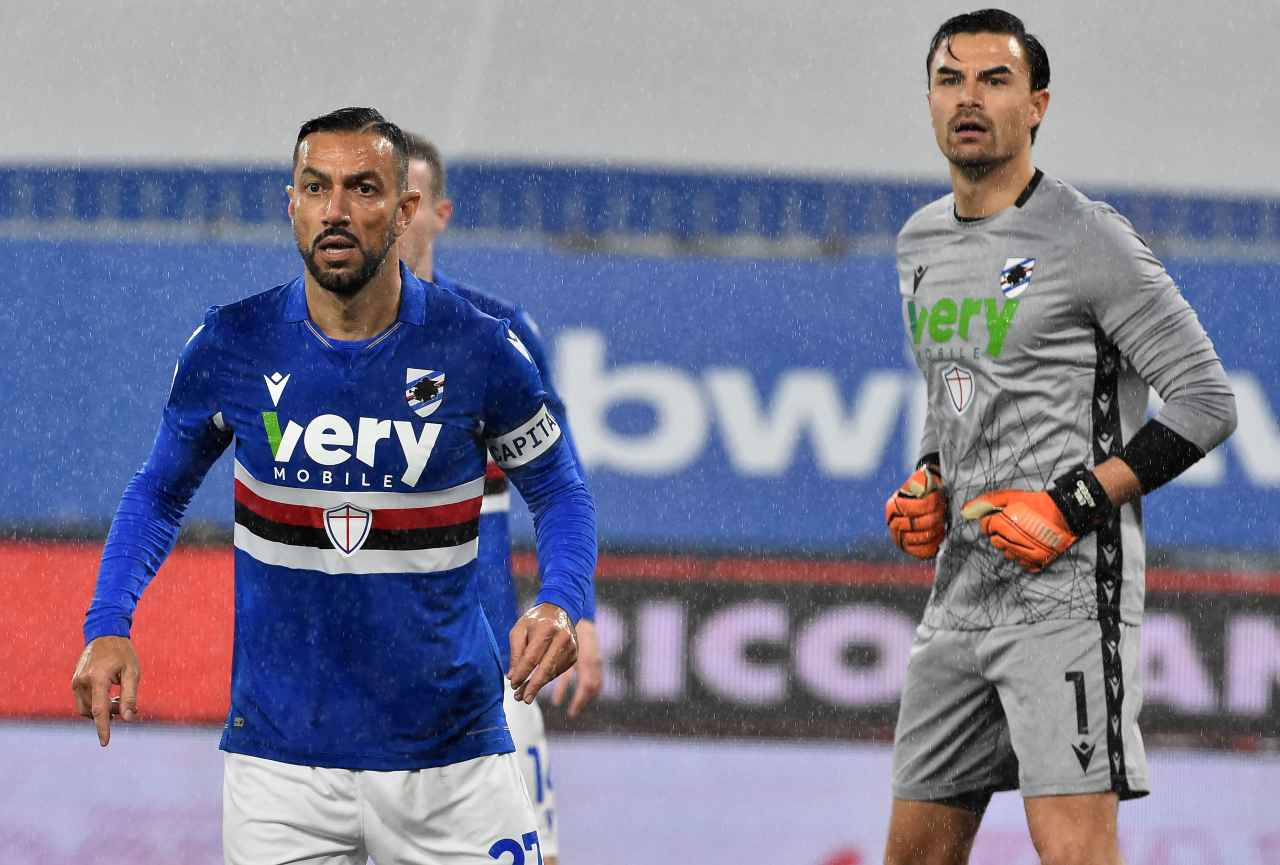 Calciomercato Sampdoria rinnovo Audero