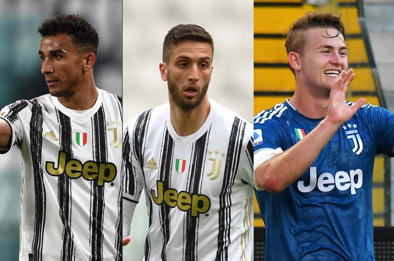 Calciomercato Juventus Danilo, De Ligt, Bentancur