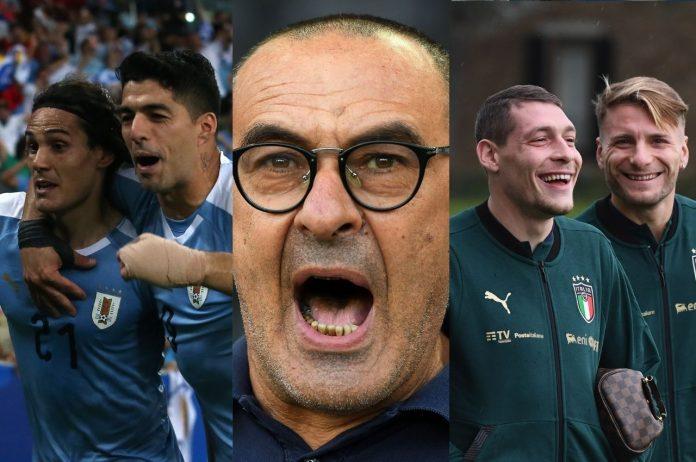 Calciomercato Roma Belotti Cavani