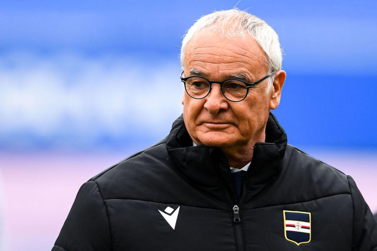 Sampdoria Claudio Ranieri
