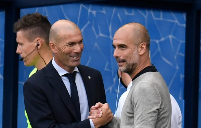 Zidane e Guardiola