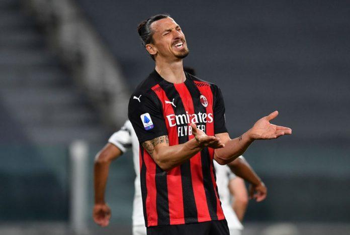 Milan infortunio Ibrahimovic