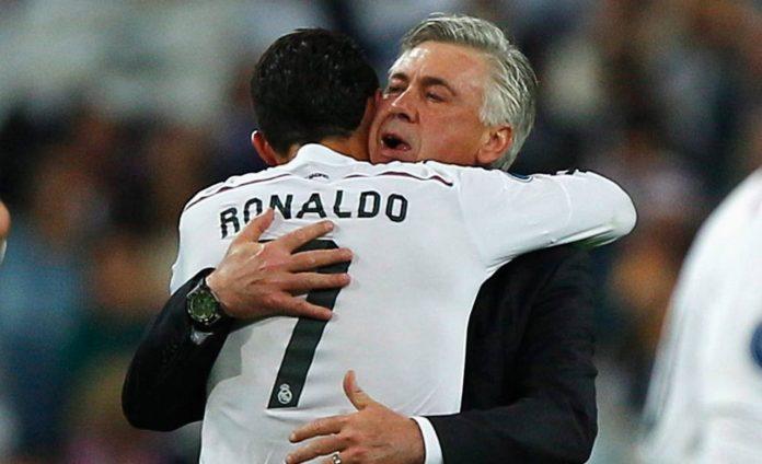 Ancelotti Ronaldo Real Madrid