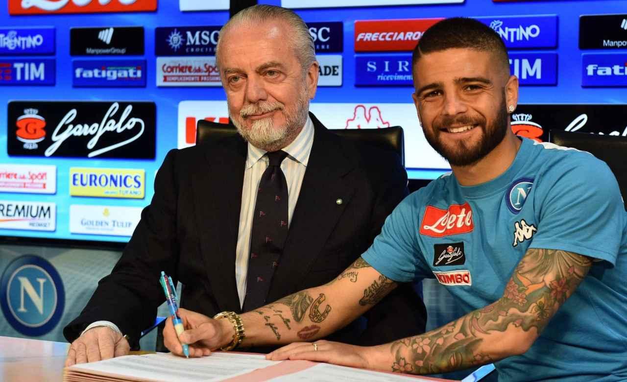 Calciomercato Napoli rinnovo Insigne